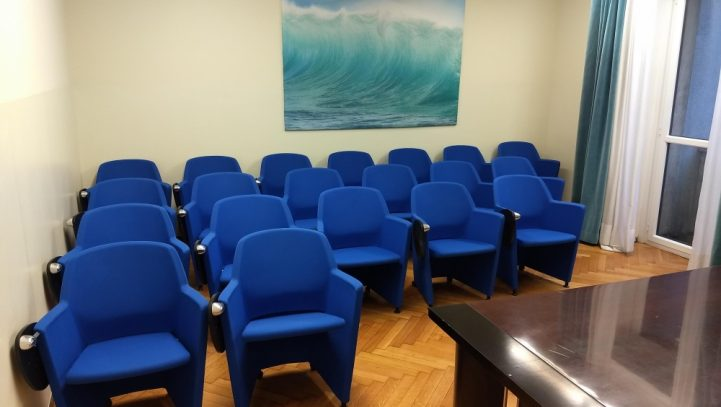 Conference room C 20/24 people